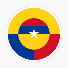 Car Sticker Decal Chica Colombiana Bandera Colombia Colombia Flag Rainbowlands Lk