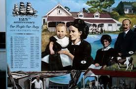 Mural, Katikati – Irish – Te Ara Encyclopedia of New Zealand