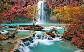 beautiful waterfall wallpaper desktop