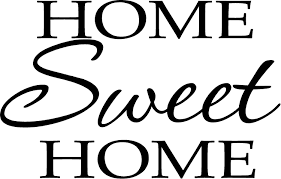 Amazon Com Newsee Decals Home Sweet Home Vinyl Wall Art Inspirational Quotes And Saying Home Decor Decal Sticker Home Kitchen