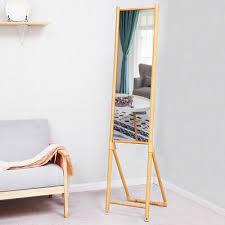 floor half mirror bedroom dressing