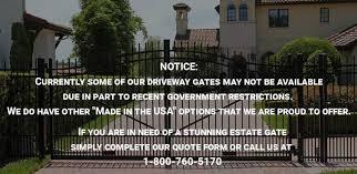 Metal Driveway Gates Aluminum Wrought Iron Models