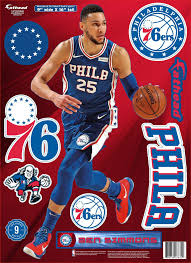 Fathead Philadelphia 76ers Ben Simmons Wall Decal Ben Simmons Philadelphia 76ers Ben Simmons 76ers