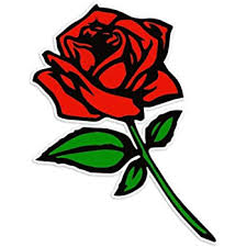 Amazon Com Bargain Max Decals Red Rose Sticker Decal Notebook Car Laptop 5 X 3 Color Automotive