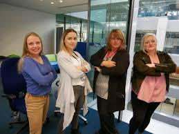 File:Carla Groom, Kate Ogilvie, Beverley Smith, & Rose Waite - GDS Academy  5th birthday London 2019.jpg - Wikimedia Commons