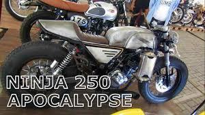 kawasaki ninja 250 fi custom build