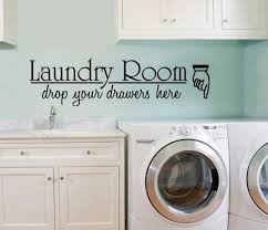 Vinyl Wall Decal Large Laundry Room Drop Your Drawersart Room Decor Quote Sign Bathroom Quote Sticke With Images Large Laundry Rooms Laundry Room Decor Wall Decals Laundry