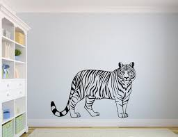 Tiger Wall Decal Vinyl Decals Nuovocreations Com Nuovocreations