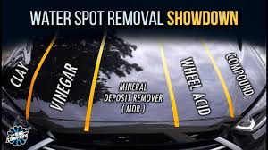 Water Spot Removal What Works Best Product Comparison Youtube