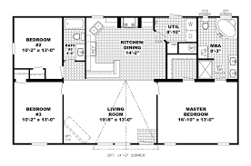 open floor plan ranch style house plans