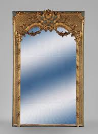 louis xv style trumeau rich carved