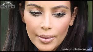 kim kardashian s all caked up face