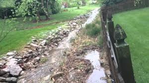 Property Erosion Of Fence Line Youtube