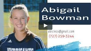 Abigail Bowman | TBU ECNL U18/19 vs West Florida Flames ECNL on Vimeo