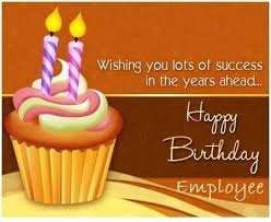 fabulous cup cake birthday wishes for employee e card nice wishes