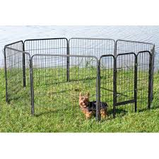 Portable Pet Outdoor Fence Enclourure Playpen For Dogs Cats Rabbit