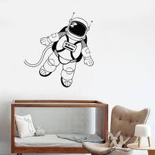 Wall Decal Astronaut Space Universe For Kids Room Vinyl Stickers Uniqu Wallstickers4you