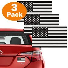 3 Pack Subdued Usa American Flag Decal 5x3 Etsy