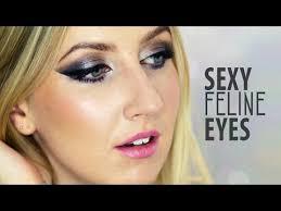 feline eye makeup tutorial
