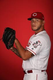 Ismael Guillon - Ismael Guillon Photos - Cincinnati Reds Photo Day ...