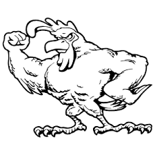 Tough Rooster Sticker
