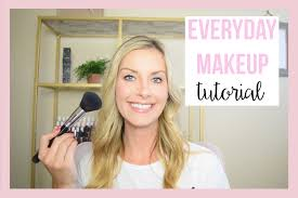 everyday makeup tutorial video style