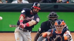 Adam Eaton's RBI single helps lead Washington Nationals to Game 1 win