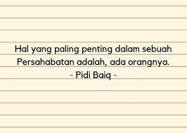 quotes pidi baiq tentang masa kuliah yang bikin kamu nostalgia