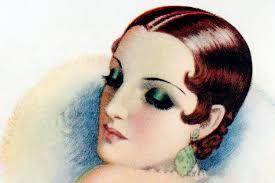 1920s eye makeup style
