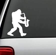 Saxophone Vinyl Decal Got Sax Sticker