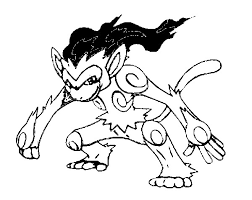 Pokemon Infernape Coloring Pages