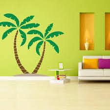 Palm Tree Wall Decal Palm Tree Wall Art Wall Decal World