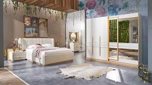 تصميم عالمي لغرفة نوم مودرن باللون الابيض ديكور ابداع Decor Epda3