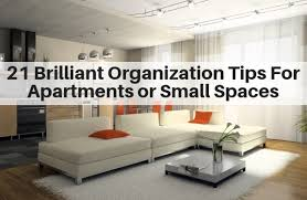 tips for apartments and small es