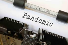 Pandemic - Typewriter image