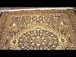 black gold rug