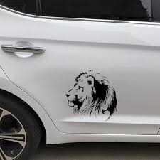 Vova Meditation Lion Car Sticker Motorcycle Decal Window Decoration Car Styling 19 5 20cm