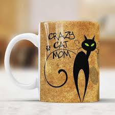Crazy Cat Mom Mug Cups Tea Cup Ceramic Coffee Mugs Tea Mugs Drinkware Home Decal Mom Mug Ceramic Coffee Mugcoffee Mug Aliexpress