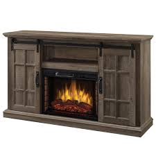infrared media electric fireplace