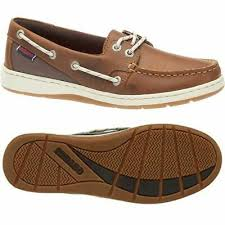 womens moccasin leather deck boating