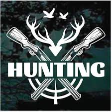 Duck Deer Hunting Club Car Window Decals Stickers Decal Junky