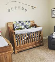bass fishing nautical nursery fishing