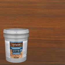 Valspar Pre Tinted Canyon Brown Transparent Exterior Stain And Sealer 5 Gallon In The Exterior Stains Department At Lowes Com