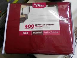 better homes and gardens 400 ct thread