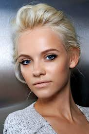 best makeup for blue eyes blonde hair