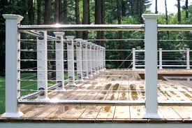 Cable Deck Railing Cost Oscarsplace Furniture Ideas Make A Cable Deck Railing