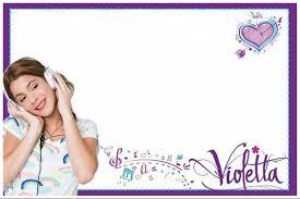 Descargar Imagenes De Violetta Invitaciones De Cumpleanos