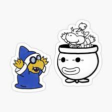 Bowser Jr Stickers Redbubble