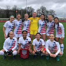 U-16 USGNT Caps UEFA Development With 5-0 Defeat of Denmark