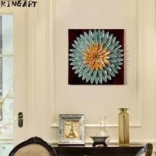 metal wall art iron painting 3d picture